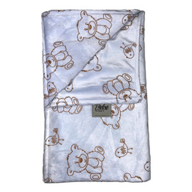 Light Blue Bears Blanket-SB42