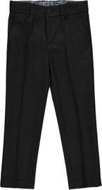 Slim Fit Boys Flat Front Dress Pants