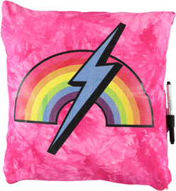 Rainbow Lightening Autograph Pillow -BJ942