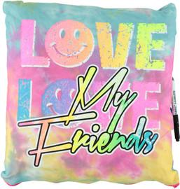 Love My Friends Autograph Pillow -BJ668