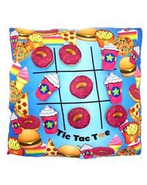 Donut Tic Tac Toe Pillow -BJ769