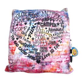 Graffiti Heart Jersey Autograph Pillow -BJ594