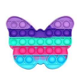 Top Trenz OMG Pop Fidgety - Rainbow Butterfly -POP-BUTTERFLY