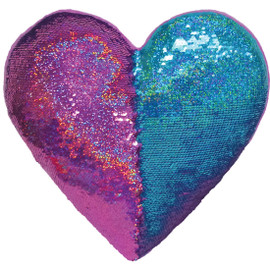 Heart Eyes Scented Reversible Sequin Pillow 780-1220