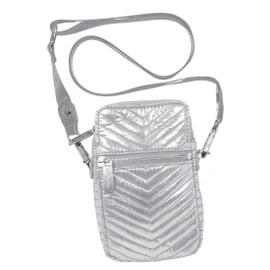 Silver Chevron Cell Bag 810-997