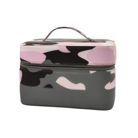 Purple Camo Puffer Cosmetic Case 810-1069