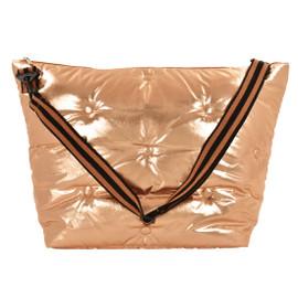 Copper Metallic Tufted Weekender Bags 810-1060