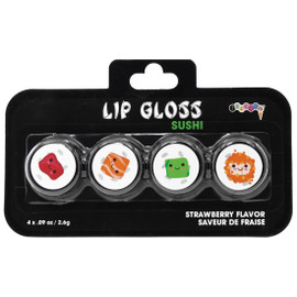 Girls Sushi Lip Gloss Set 815-029