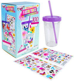 Fresh Vibes Sticker Tumbler Design Kit - 12216