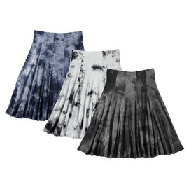 Women's Ribbed Tie Dye Panel Skirt