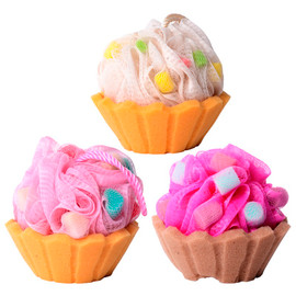 Cupcake Bath Sponge
