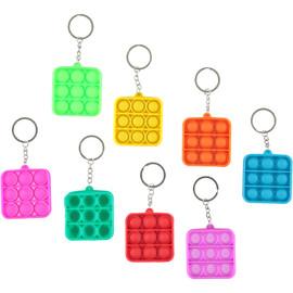Pop Fidgety Box Keychain