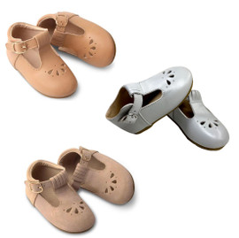 Baby Leather T-Bar Shoes