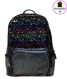 Bari Lynn Rainbow Stars & Glitter Backpack - BLRSGB