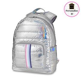 Iridescent Puffer Backpack Sweetness Strap