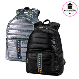 Puffer Backpacks with Multi Star Strap
