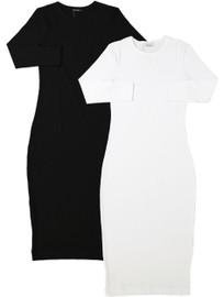 Kiki Riki Shell  Dress 3/4 Sleeve