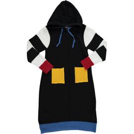 Girls Knit Hoodie Dress