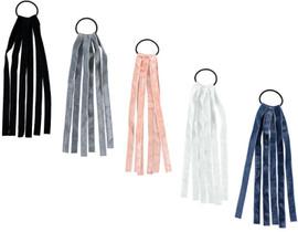 Girls Velvet Ribbon Tails