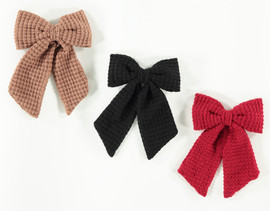 Girls Waffle Tails Hair Clip