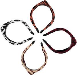 Girls Knit Hearts Knot Headband
