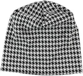 Sweater Houndstooth Ladies Beanie - BN857