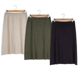 Point Knit Aline Skirt