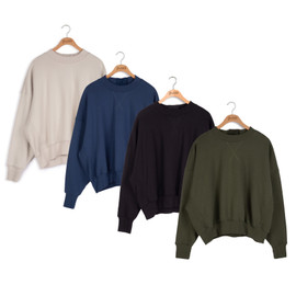 Point Sweats Button Top