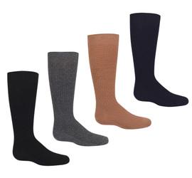 Girls Winter Weave Knee Sock