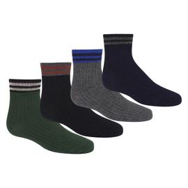 Boys Varsity Stripes Ankle Socks