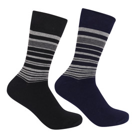 Mens Mono Stripe Sock