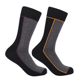 Mens Contrast Seam Sock