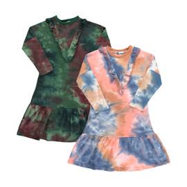 Girls Tie Dye Cotton Dress