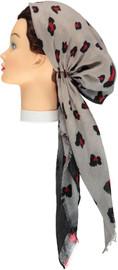 Women Leopard Ombre Pre-tied Headscarves - HS128