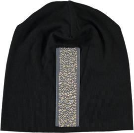 Riqki Women's Embellished Ribbed Beanie-WB113