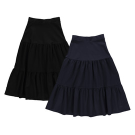 Women's Ponti 3-Tier Maxi Skirt