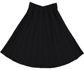 Women's 27 Inches Knit Pleated Skirt