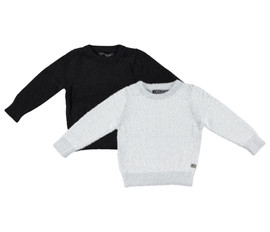 Boys/Girls 100% Cotton Solid Knit Sweater