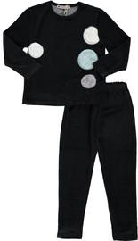 Boys Velvet With Fur Patches 2pc Pajama