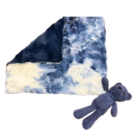 Marble Luxe Blue/Luxe Navy Lovey