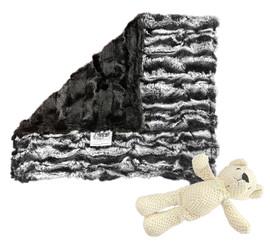 Lapin Black/Stripe Black Lovey