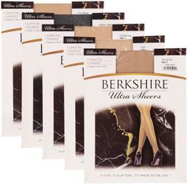 Berkshire Womens Ultra Sheer Control Top Pantyhose