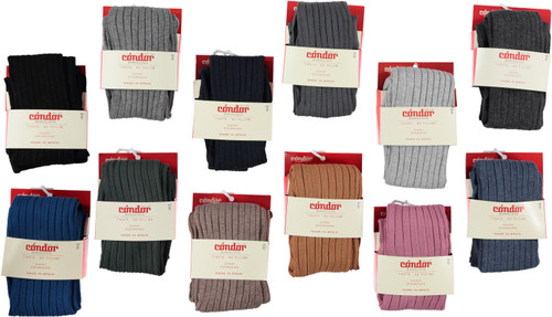 Condor Ribbed Cotton Tights
