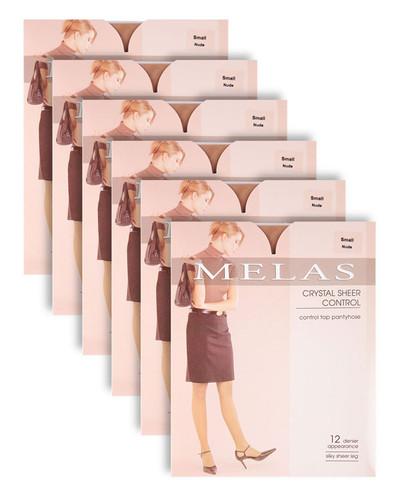 Melas Crystal Sheer Control 6-Pack