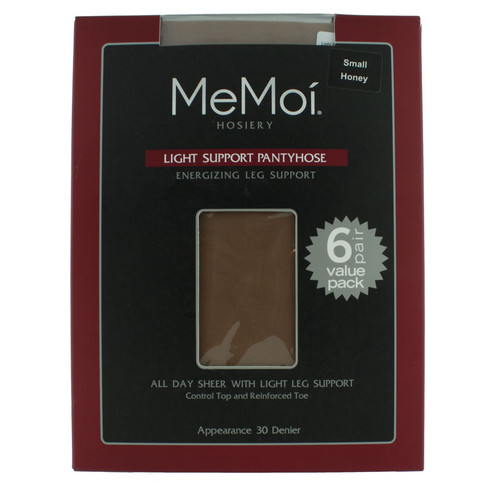 Light Support Pantyhose 6-Pack