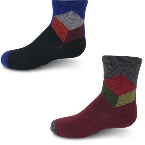 Zubii Rubiks Cube Ankle Sock