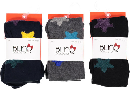 BlinQ Chenille Stars Tights