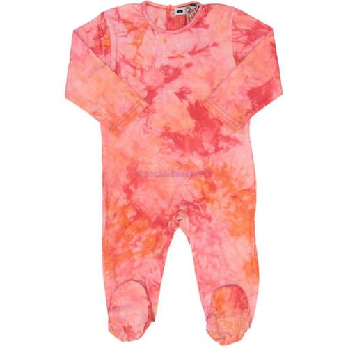 Teddy Bear Baby Girls Cotton Stretchie - PN11BG