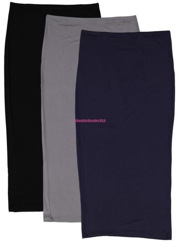 BGDK Women Maxi Slim Skirt