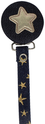 Crystal Dream Pacifier Clip - RDS19, Blue